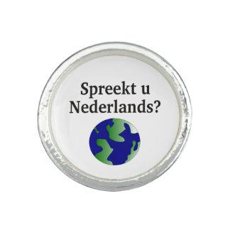 Sprechen Sie Niederländisch? in Dutch.With Kugel Foto Ringe