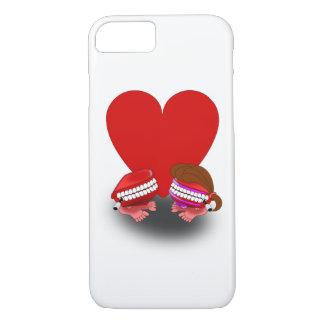 Springende Zahn-Paare iPhone 8/7 Hülle