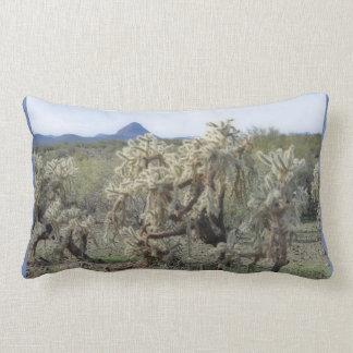 Springender Kaktus im Orions-Akzentlumbar-Kissen Lendenkissen