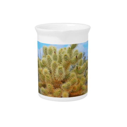 Springender Kaktus-Porzellan-Krug Getränke Krüge
