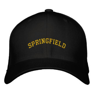 Springfield Bestickte Baseballkappe