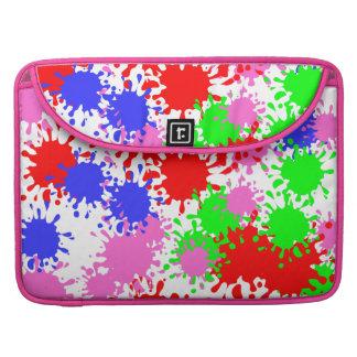 Spritzen-Farbe Macbook Prohülsen Sleeve Für MacBooks