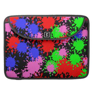 Spritzen-Farbe Macbook Prohülsen MacBook Pro Sleeve