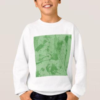 Spritzengrün Sweatshirt