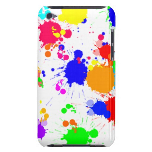 Spritzer-Farbe Kersplatter Fall iPod Case-Mate Hülle