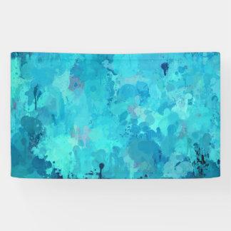 spritzt von der Farbe, Aqua Banner