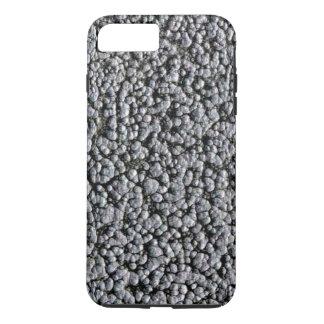 SPRUDELNDES STAHL (ein metallischer schauender iPhone 7 Plus Hülle