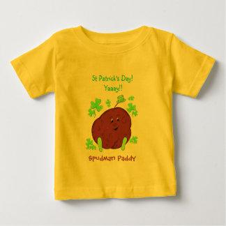 Spudman Paddy-St Patrick TagesSäuglings-T - Shirt