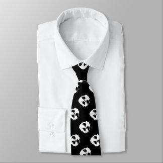 Spuk Puppen-Gesicht Krawatte