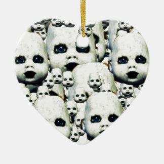 Spuk Puppenprodukte des beängstigenden kleinen Keramik Ornament