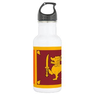 Sri Lanka nationale Weltflagge Edelstahlflasche
