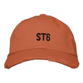 ST6 beunruhigte gestickten Hut Besticktes Cap