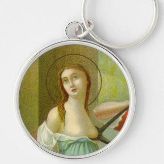 St. Agatha (M 003) Schlüsselanhänger