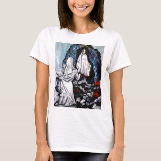 St. Bernadette an der Grotte T-Shirt