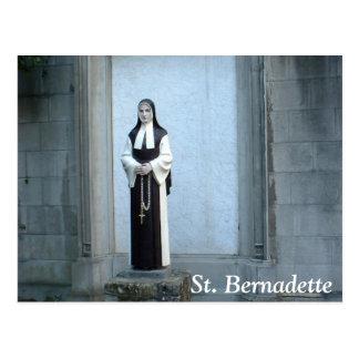 St. Bernadette Postkarte