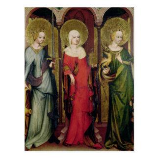 St. Catherine von Alexandria, St Mary Postkarten