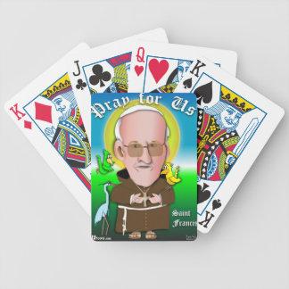 St Francis beten Poker Karten