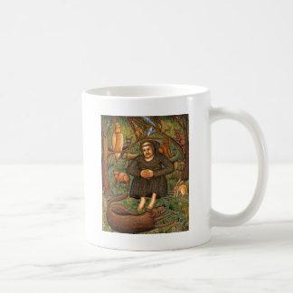 St Francis im Waldgeschenk, Schlüsselketten-Tasse Tasse