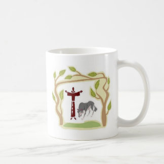 St Francis und die Wolf-Krawatte, die Tasse