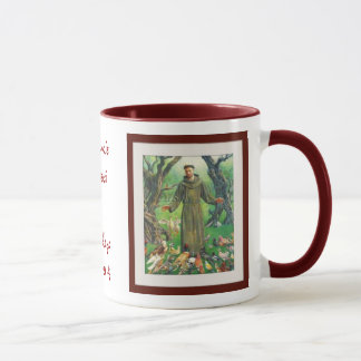 St Francis von Assisi Tasse