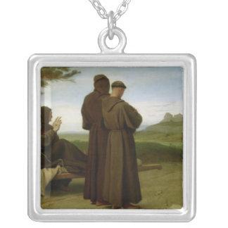 St Francis von Assisi Versilberte Kette