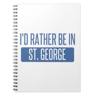 St George Notizblock