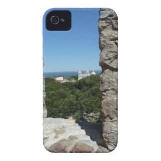 St George Schloss-Grußkarte (Lissabon, Portugal) iPhone 4 Cover
