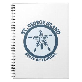 St- Georgeinsel Notizblock