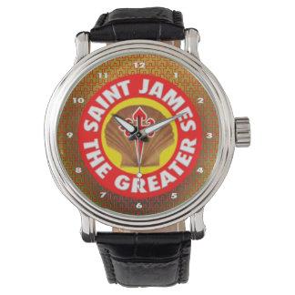 St James das größere Armbanduhr