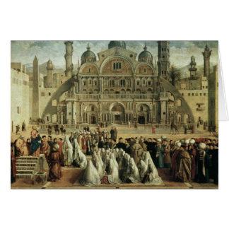 St Mark, das in Alexandria, Ägypten, 1504-07 Karte