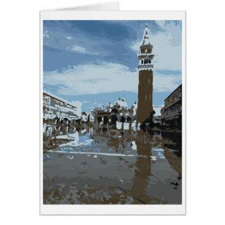 St Mark Quadrat, Venedig, Italien Karte