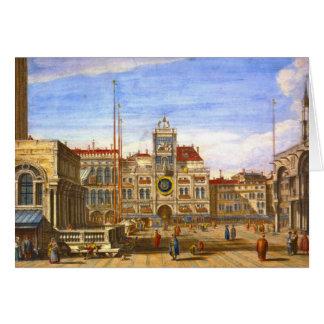 St Mark Venedig 1715 Karte