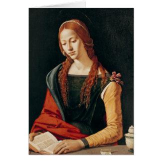 St Mary Magdalene, 1500-10 Grußkarte