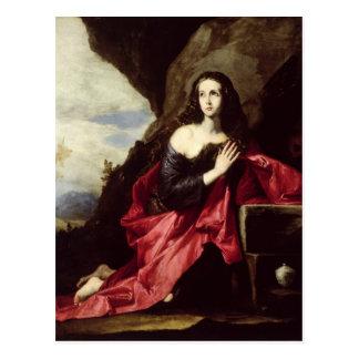 St Mary Magdalene oder St. Thais in der Wüste Postkarte