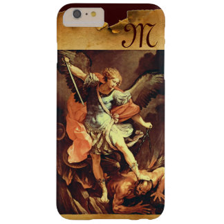 St Michael das Erzengel-Monogramm Barely There iPhone 6 Plus Hülle