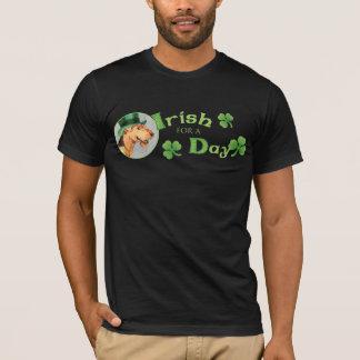 St Patrick Day Dogue de Bordeaux T-Shirt