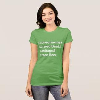 St Patrick Tagesetzeichen-Entwurf T-Shirt