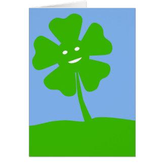 St Patrick Tagesgeburtstags-Karte Grußkarte