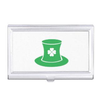 St Patrick Tageshut-Visitenkarte-Halter Visitenkarten Etui