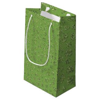 St Patrick Tagesklee-Blatt-Geschenk-Tasche Kleine Geschenktüte
