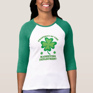 St Patrick TagesMarketings-Abteilungs-T - Shirt