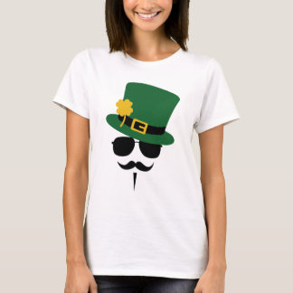 St. Patricks day Moustache T-Shirt