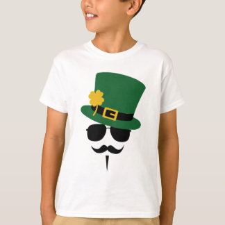 St. Patricks day Moustache T-Shirt