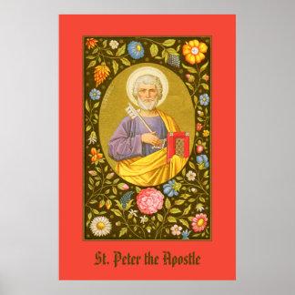 St Peter das Plakat #1 des Apostel-(P.M. 07)