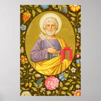 St Peter das Plakat #2 des Apostel-(P.M. 07)