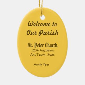 St Peter der Apostel (P.M. 07) Keramik Ornament