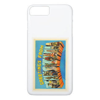 Staat der Vintagen Reise-Andenkens Pennsylvania iPhone 8 Plus/7 Plus Hülle