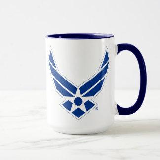 Staat-Luftwaffen-Logo - Blau Tasse