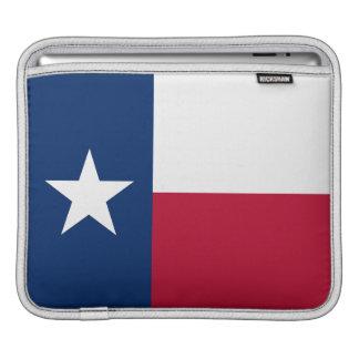 Staats-Flagge von Texas ~ ipad Fall Sleeve Für iPads