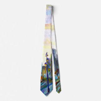 Stadt-Ansicht Individuelle Krawatten